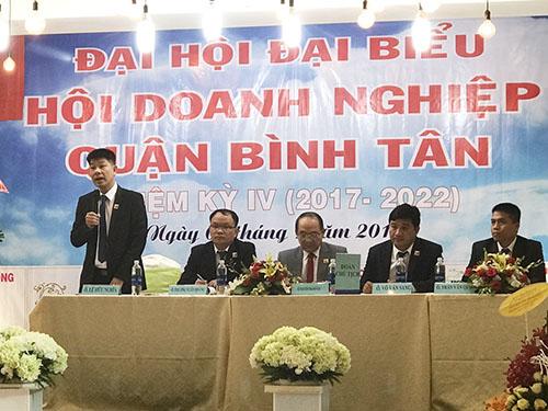 Đại hội đại biểu Hội doanh nghiệp Q. Bình Tân