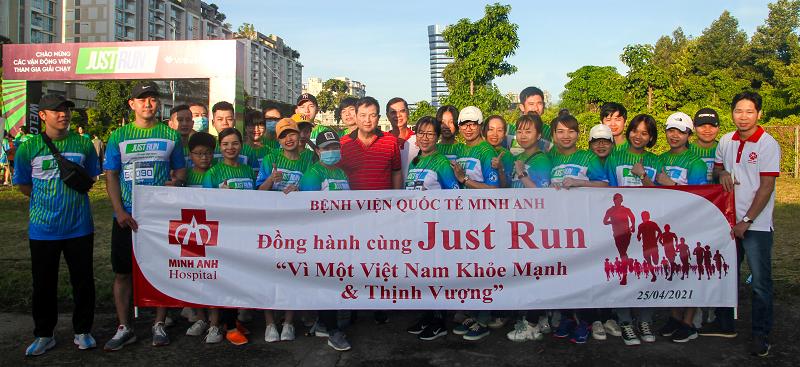 BVQT Minh Anh đồng hành Vì một Việt Nam Khỏe mạnh và Thịnh vượng
